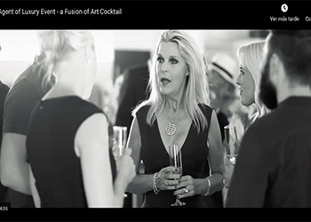 Agent of Luxury Event - a Fusion of Art Cocktail