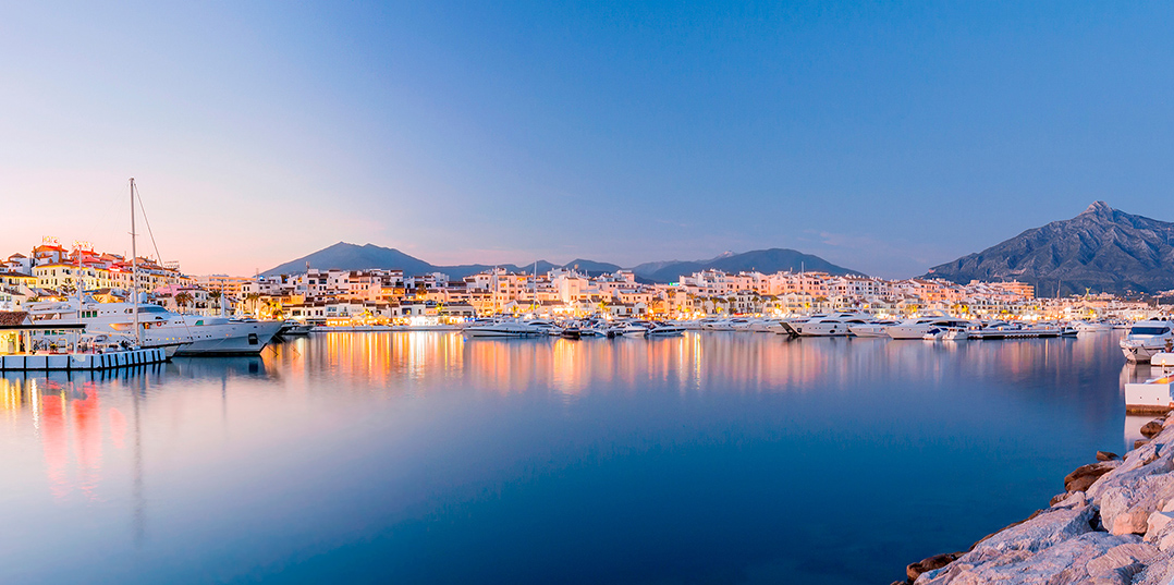 """Marbella One of the World's Hotspots""."