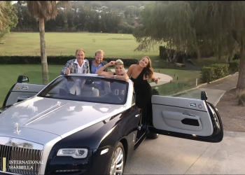 Launch of the New Rolls Royce Dawn Convertible 2019